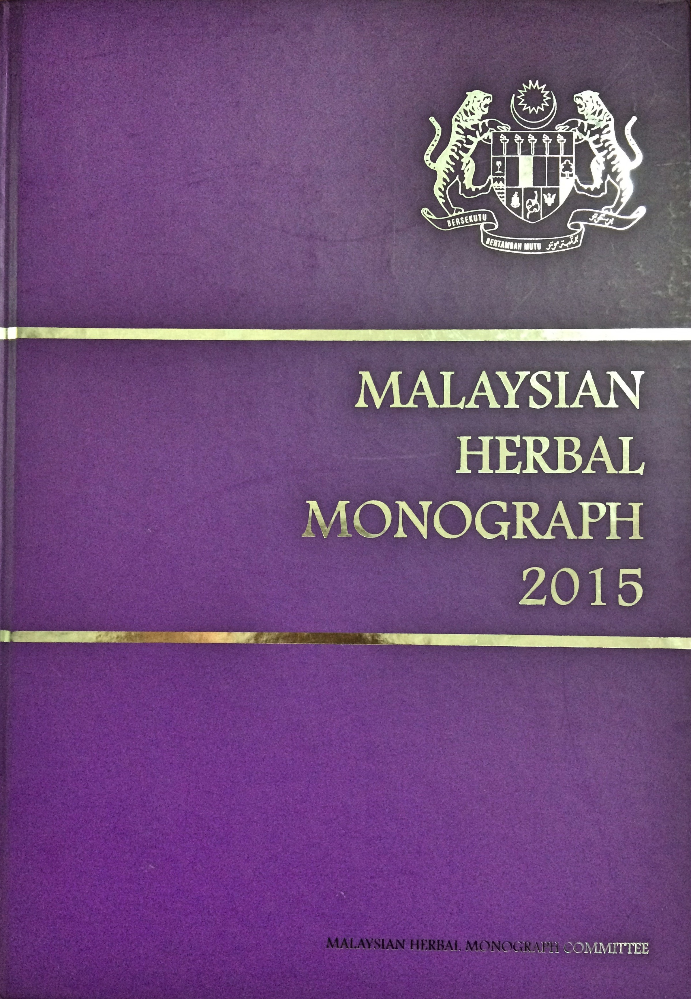 Cover Page book MHM 2015