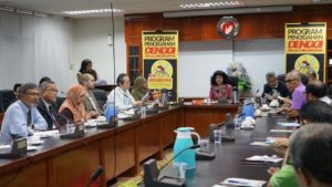 Meeting of Wolbachia Project before Launching of Wolbachia Building